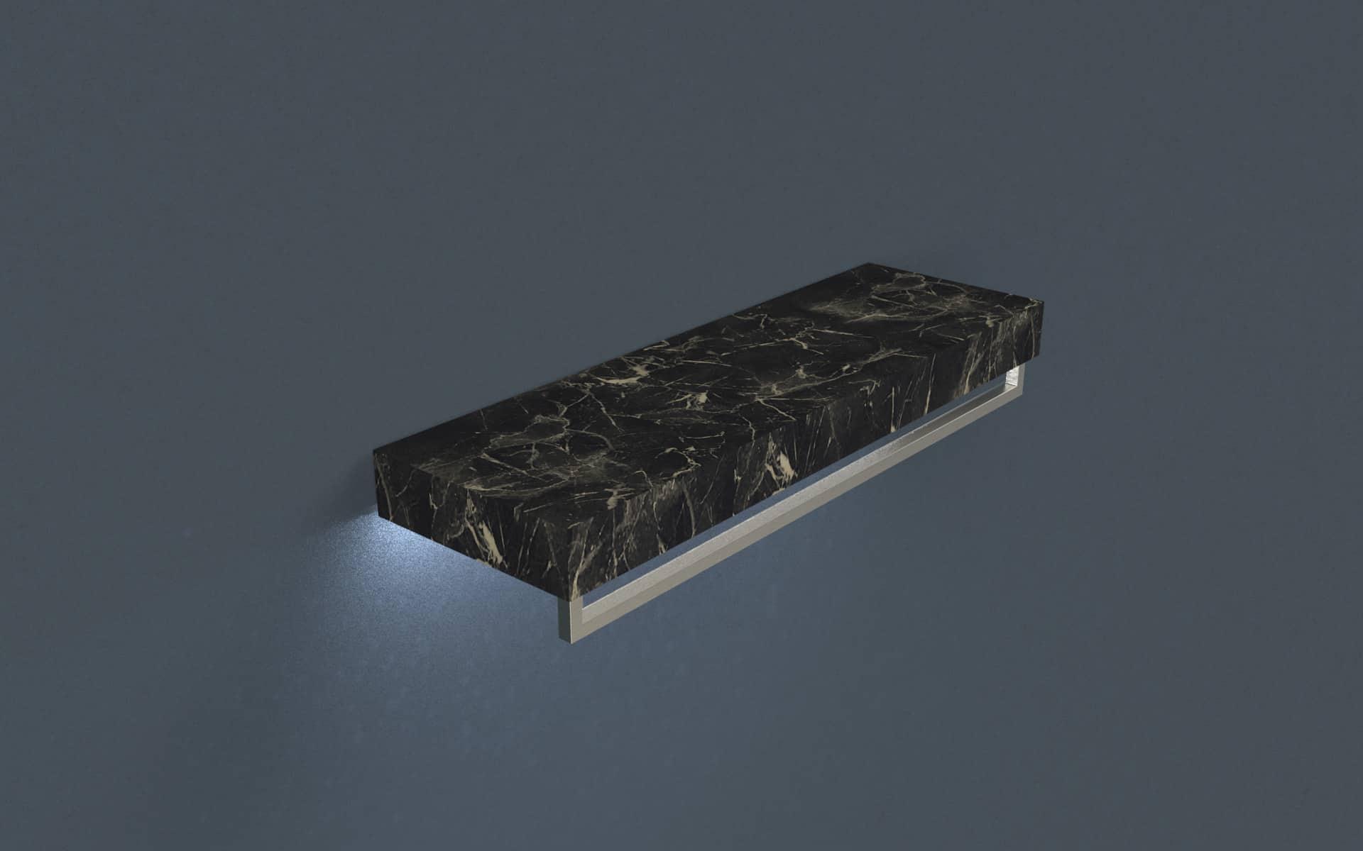Shelf Monolith with hanging bar image 0