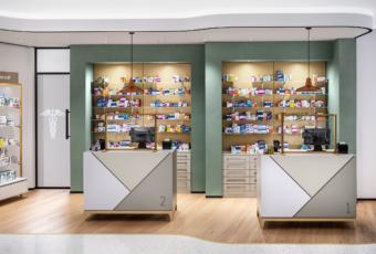 arredamento farmacia banco etico retrobanco